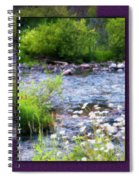 Creek Daisys Spiral Notebook