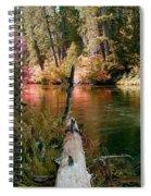 Creek Fall Spiral Notebook