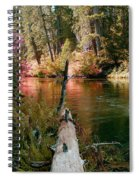 Creek Fall Spiral Notebook