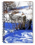 Creek Fenceline Spiral Notebook