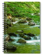 Creek In Great Smoky Mountains National Spiral Notebook