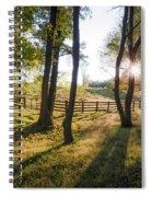 Creeper Sunset Spiral Notebook