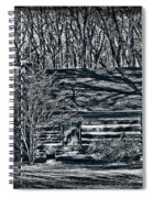 Creepy Cabin In The Woods Spiral Notebook