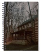 Creepy Cabin Spiral Notebook