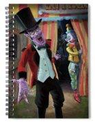 Creepy Circus Spiral Notebook