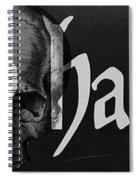 Creepy Halloween Spiral Notebook