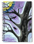 Creepy Night Spiral Notebook