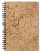 Crema Valencia Granite Spiral Notebook