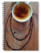 Creme Brule Spiral Notebook