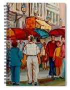 Creme De La Creme Cafe Spiral Notebook