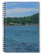 Crescent Beach Center Panoramic Spiral Notebook