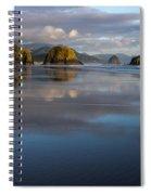 Crescent Beach Reflections Spiral Notebook