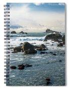 Crescent City Shoreline Spiral Notebook