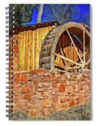 Crescent Moon Ranch Water Wheel Spiral Notebook