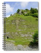 Cressbrook Dale Opposite To Tansley Dale Spiral Notebook
