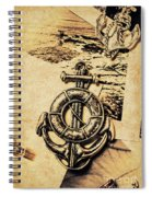 Crest Of Oceanic Adventure Spiral Notebook