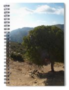Crete Inland View Spiral Notebook