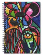 Creve Coeur Streetlight Banners Whimsical Motion 19 Spiral Notebook