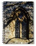 Cricket St Thomas Church Window Spiral Notebook