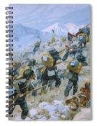 Crimean War And The Battle Of Chernaya Spiral Notebook