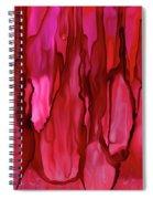 Crimson Forest Spiral Notebook