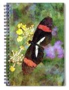 Crimson Longwing Butterfly 8231 Idp_2 Spiral Notebook