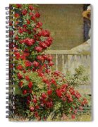 Crimson Rambler Spiral Notebook