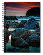 Crimson Skies Spiral Notebook
