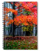 Crimson Tree Spiral Notebook