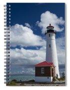 Crisp Point Lighthouse 7 Spiral Notebook