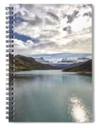 Crisped Lake Spiral Notebook