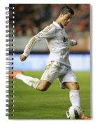 Cristiano Ronaldo 2 Spiral Notebook