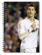 Cristiano Ronaldo 4 Spiral Notebook
