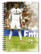 Cristiano Ronaldo Reacts Spiral Notebook