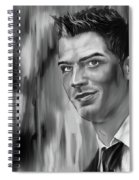 Cristiano Soccer Player 01 Spiral Notebook