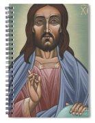 Cristo Pantocrator 175 Spiral Notebook