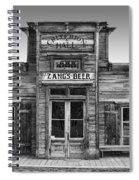 Criterion Hall Saloon -- Montana Territories Spiral Notebook