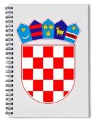Croatia Coat Of Arms Spiral Notebook