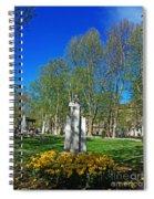 Croatian Giant - Ivan Mazuranic Spiral Notebook