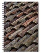 Croatian Roof Tiles Spiral Notebook