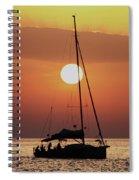Croatian Sunset Spiral Notebook