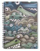 Crocodile Soup Spiral Notebook