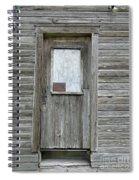 Crooked Door Spiral Notebook