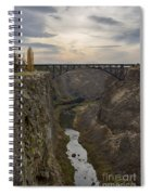 Crooked River Spiral Notebook
