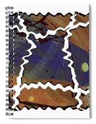 Crooked Roads Spiral Notebook
