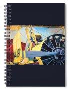 Crop Duster 93 Spiral Notebook