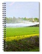 Crop Dusting Spiral Notebook