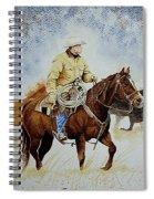 Cropped Ranch Rider Spiral Notebook
