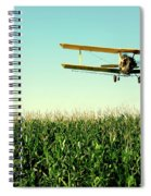 Crops Dusted Spiral Notebook