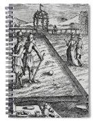 Croquet Spiral Notebook
